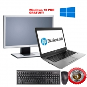 Pachet 6 Laptop HP + Monitor 22 inch complet (include windows 10 PRO)