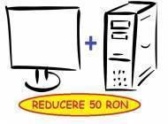 Oferta - Calculator + Monitor = reducere 50 RON