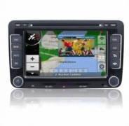 DVD-TV AUTO CU GPS DEDICAT pentru Skoda Octavia II, model TTi-7501, include harta Full Europa